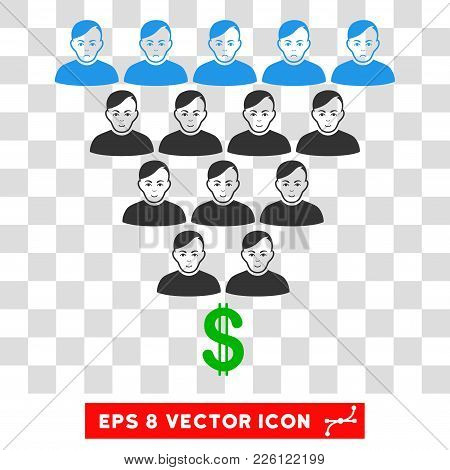 Ponzi Pyramid Scheme Eps Vector Pictogram. Illustration Style Is Flat Iconic Symbol On Chess Transpa