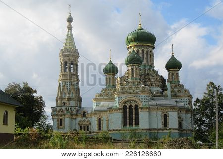 Cathedral Of The Assumption   Belaya Krinitsa, Ukraine  A Real Jewel Of Church Architecture.  The Vi
