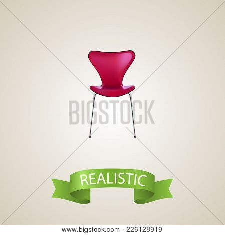 Seating Realistic Element. Vector Illustration Of Seating Realistic Isolated On Clean Background For