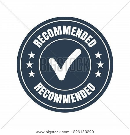 Recommended Black Flat Badge