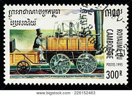 George Stephenson's Locomotive N°1