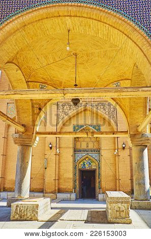 Pavillion With Sarcofagi, Vank Cathedral, Isfahan, Iran