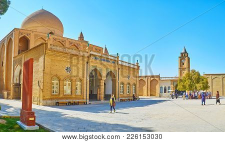 Isfahan, Iran - October 20,2017: The Brick Cathedral Of Holy Savior Is The Main Church Of Medieval M