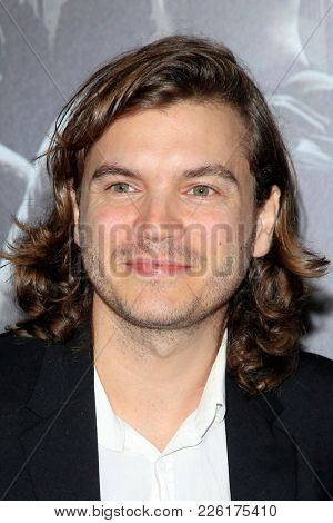 LOS ANGELES - FEB 5:  Emile Hirsch, Nephew Connor at the