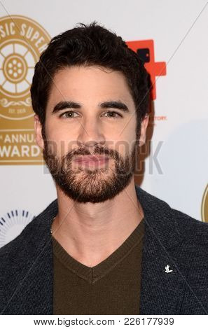 LOS ANGELES - FEB 8:  Darren Criss at the Guild of Music Supervisors Awards at The Theatre at Ace Hotel on February 8, 2018 in Los Angeles, CA
