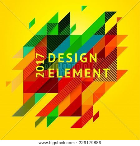 Minimalistic Design, Creative Concept, Modern Diagonal Abstract Background Geometric Element. Red, B
