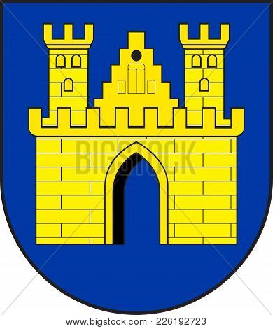Coat Of Arms Of Freudenberg Is A Town In The Siegen-wittgenstein District, In North Rhine-westphalia