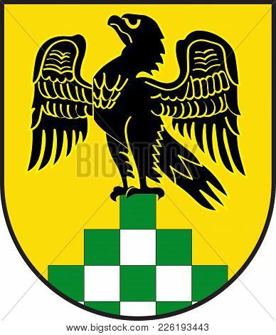 Coat Of Arms Of Anroechte Is A Municipality In The District Of Soest, In North Rhine-westphalia, Ger