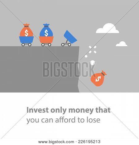 Investment Precaution, Money Loss, Risk Assessment, Financial Debt, Fund Mismanagement, Venture Capi