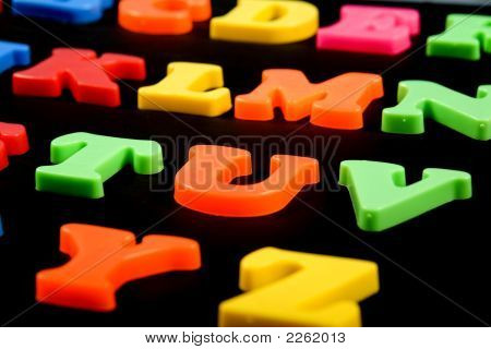 Coloured Letter