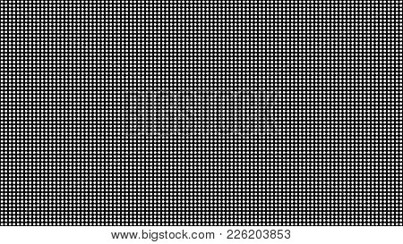Led Screen Macro Vector Texture. Rgb Diode Screen Seamless Pattern. Screen Led Background, Display D