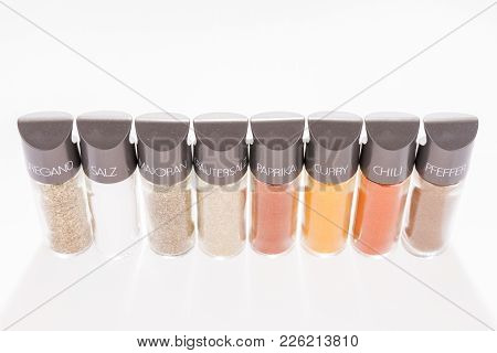 Row Eight Spices Spice Image & Photo (Free Trial) | Bigstock