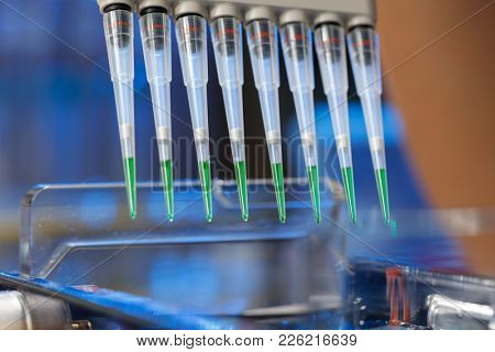 loading amplified DNA samples to agarose gel with multichannel pipette
