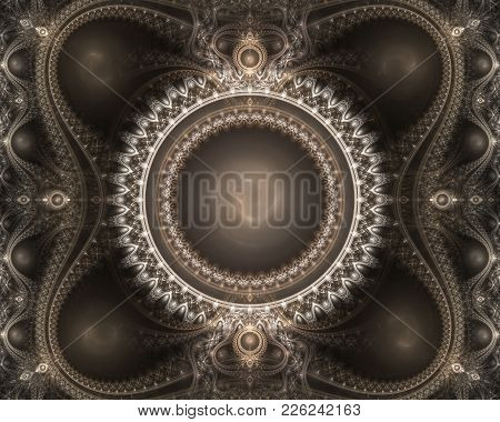Fractal Julian Victorian Decoration, Great For You Compositions.