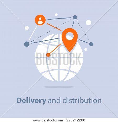 Global Delivery And Distribution, Travel Arrangements, International Shipment