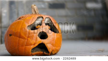 Decaying Pumpkin