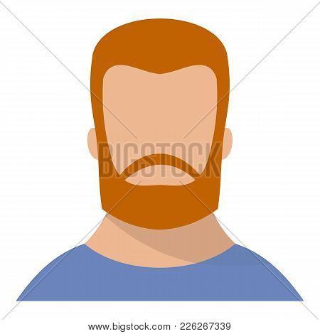 Hipster Icon. Flat Illustration Of Hipster Vector Icon For Web