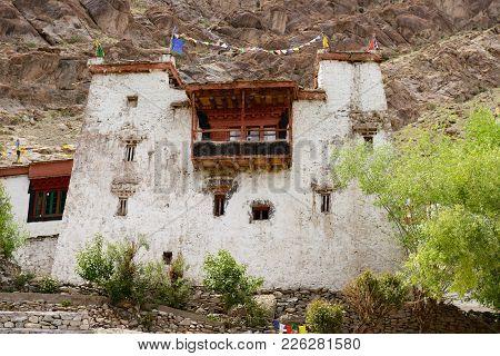 Hemis Buddhist Small Monastery In Ladakh, India