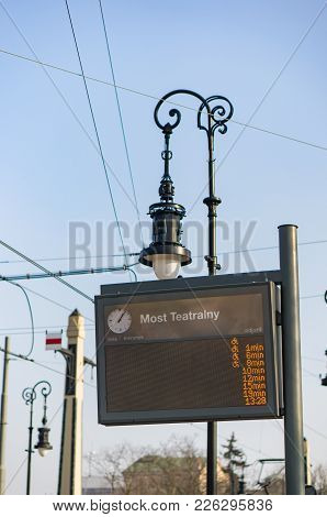 Tram Time Table