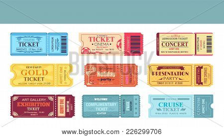 Theatre And Cinema Tickets, Welcome Party Holiday, Presentation And Exhibition, Concert And Cruise,