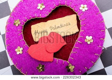Love Concept For Valentine's Day
