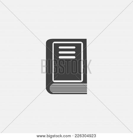 Book Icon Vector Illustration. Adress Book Icon Vector