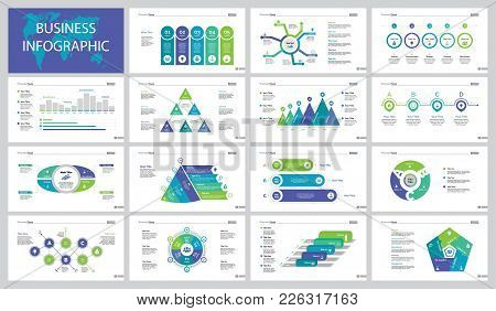 Infographic Design Set Can Be Used For Workflow Layout, Presentation, Annual Report. Marketing And B