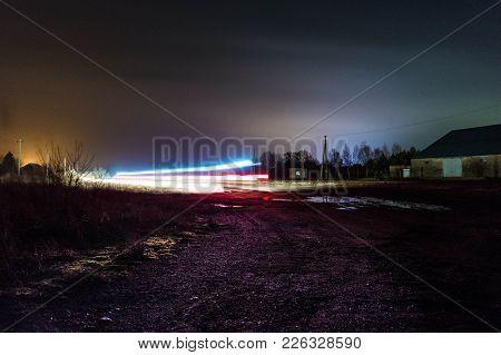 Long Exposure Light Trail Night Photography V1