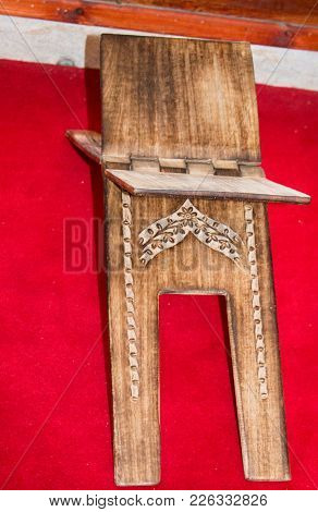 Ottoman Turkish Style  Wooden Lectern In View