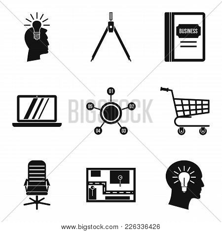 Scheduling Icons Set. Simple Set Of 9 Scheduling Vector Icons For Web Isolated On White Background