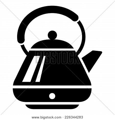 Big Kettle Icon. Simple Illustration Of Big Kettle Vector Icon For Web