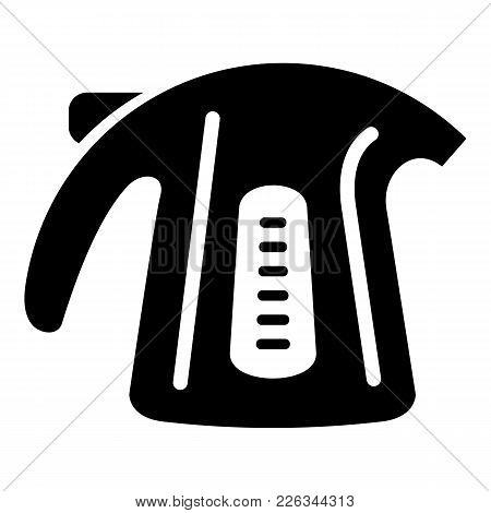 Plastic Kettle Icon. Simple Illustration Of Plastic Kettle Vector Icon For Web