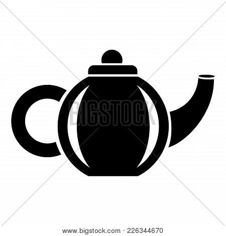 Teapot For Drink Icon. Simple Illustration Of Teapot For Drink Vector Icon For Web