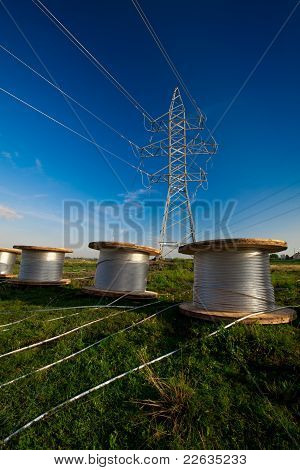 Construction of new power line