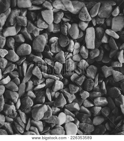 Grayscale Pebbles For Background  Or Whatever You Like!