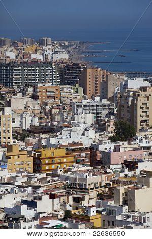 View Of Almeria
