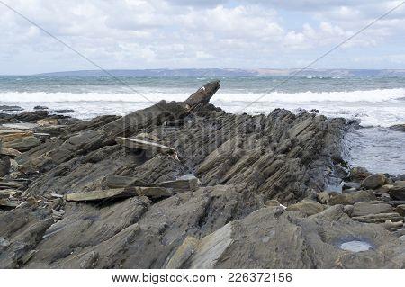 Fishery Beach Rock Formations, Fleurieu Peninsula, South Australia
