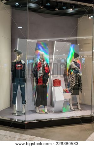 Jaspal Shop At Emquatier, Bangkok, Thailand, Nov 10, 2017 : Luxury And Fashionable Clothing Brand Wi