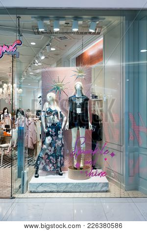 Mynx Babee Shop At Emquatier, Bangkok, Thailand, Nov 10, 2017 : Luxury And Fashionable Clothing Bran