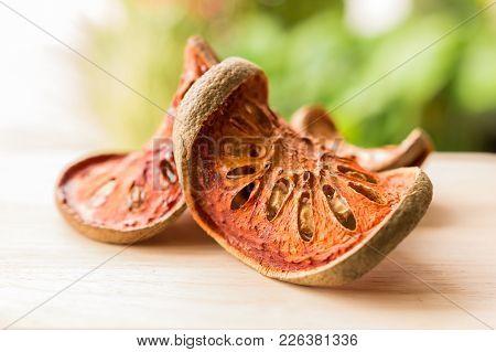 Dry Bael Fruit