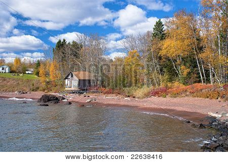 House And Cabin, Lake Superior