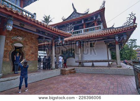 Tainan, Taiwan - November 2, 2017: Fort Provintia Or Providentia
