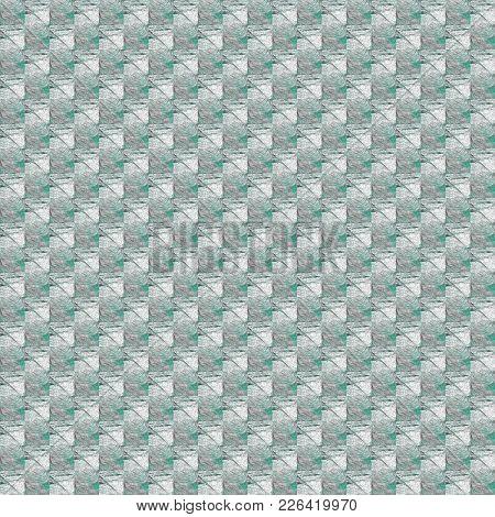 Grunge Seamless Green Texture Broken Fractal Patterns