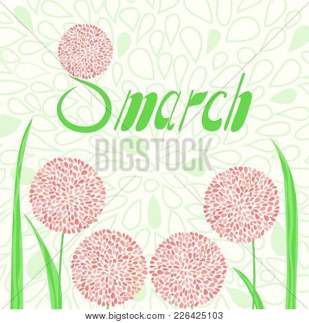 8 March Greeting Card
