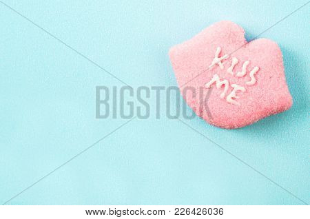 Heart Shaped Valentines Candies With