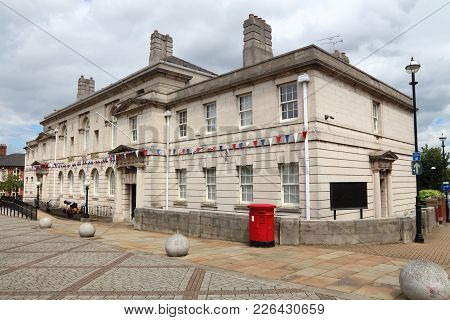 Rotherham Town Hall - Local Government In Uk Town On South Yorkshire.