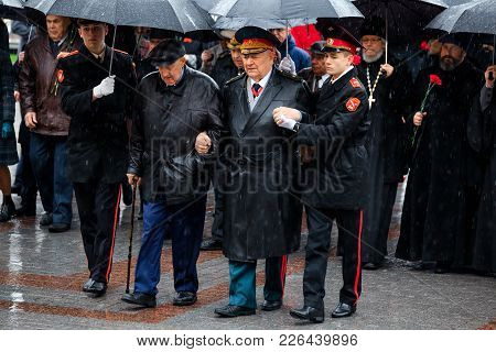 Moscow, Russia - May 08, 2017: Moscow Major Sergey Sobyanin  And Deputies Of The Moscow City Duma La