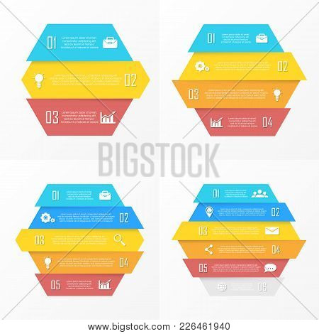 Set Vector Elements For Infographic. Business Concept Can Be Used For Chart, Brochure, Diagram And W