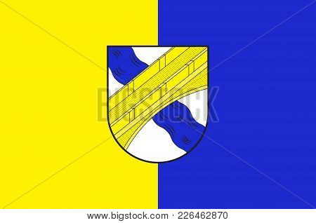 Flag Of Lippetal Is A Municipality In The District Of Soest, In North Rhine-westphalia, Germany. Vec