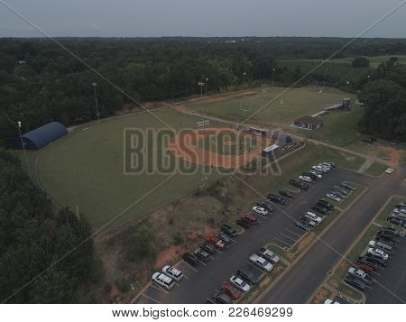 This Is An Image Of Sports Complex At A High School